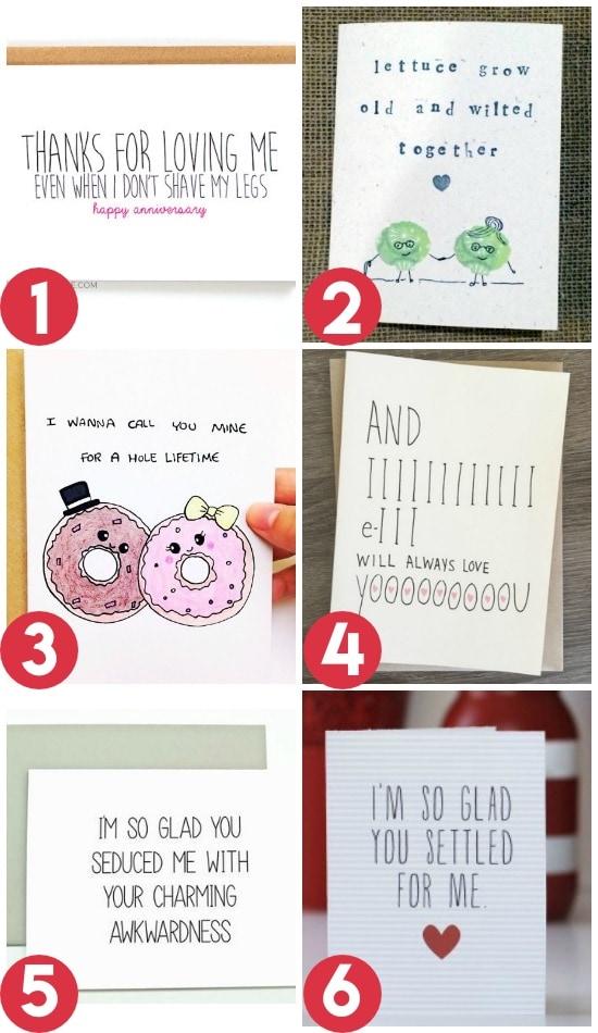 Anniversary Card Ideas For a Spouse