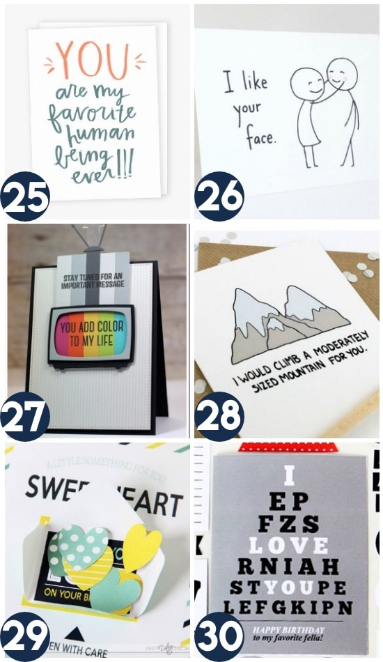 Birthday Card Ideas For A Spouse