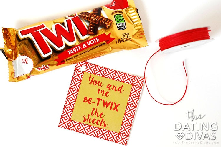 Sexy Candy Bar Love Note Idea