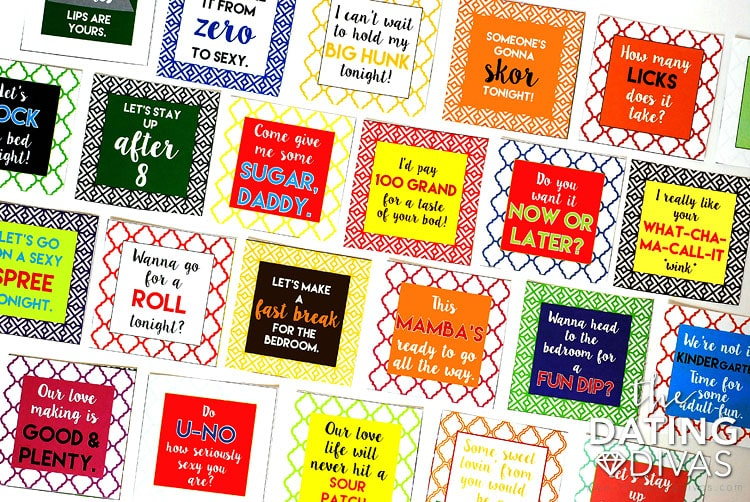 the dating divas candy tags Halloween printables treat bags plus 12 more printable halloween goodies 4 1 // the dating divas a fun fall s'mores tag and candy wrapper set.