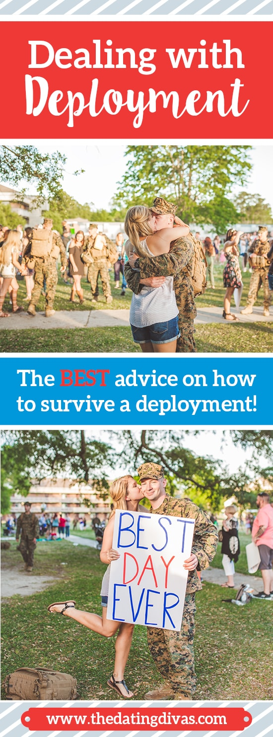 The BEST advice on how to deal with a deployment,