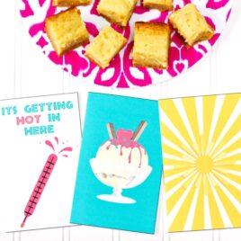 Flirty summer cards