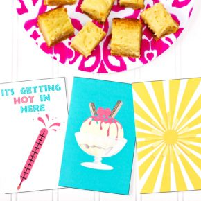 Flirty summer cards