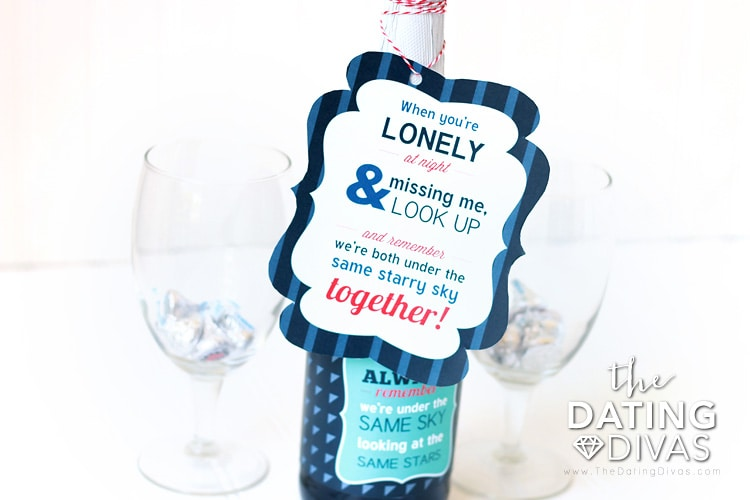 Long Distance Love Same Starry Sky Invite