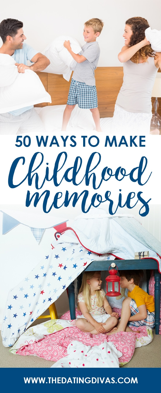 Make memories with your kids today!