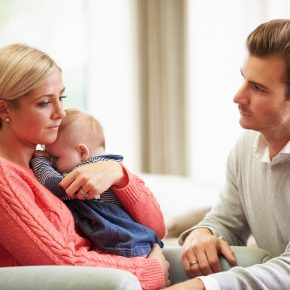 Strengthening your marriage through postpartum depression.