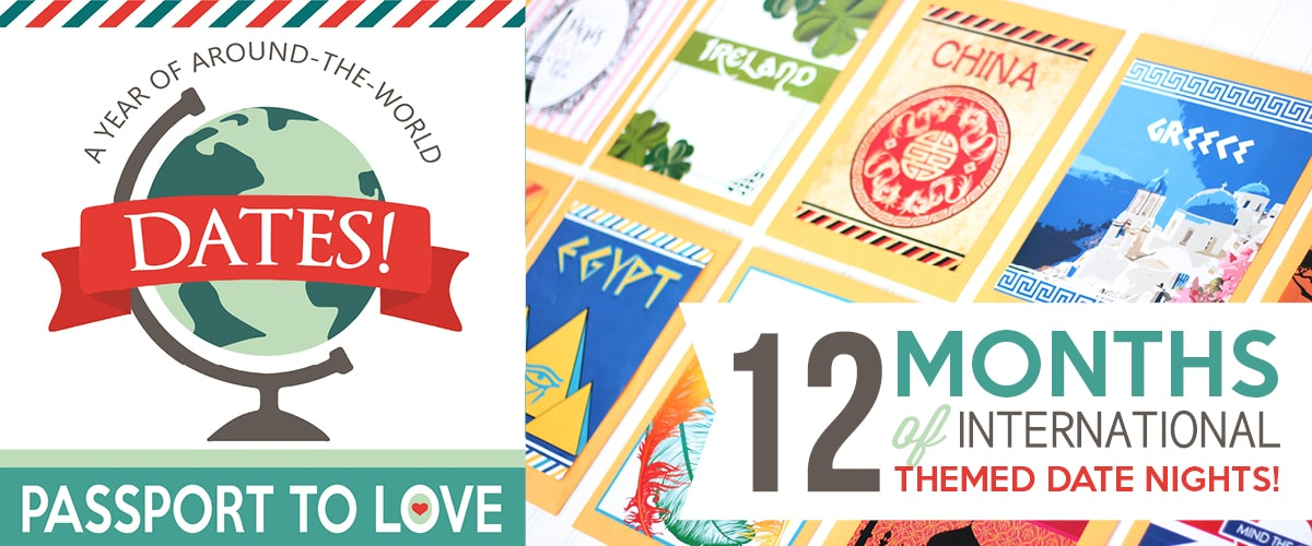 Passport to Love- A Year of Around the World Dates