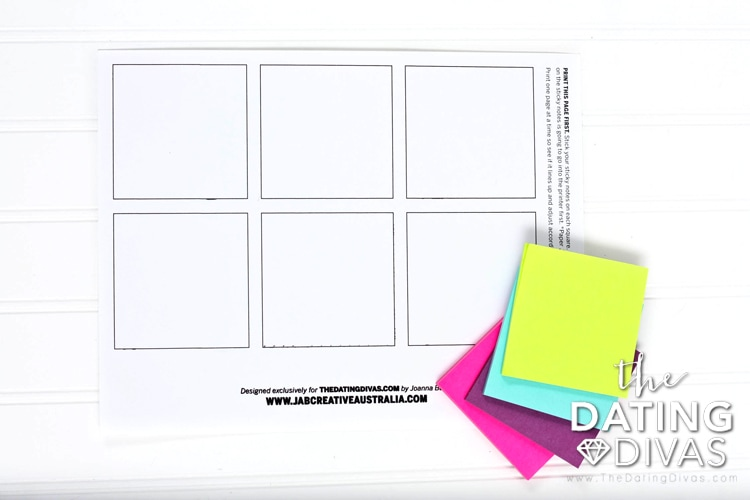 Printing on Sticky Notes Instructions