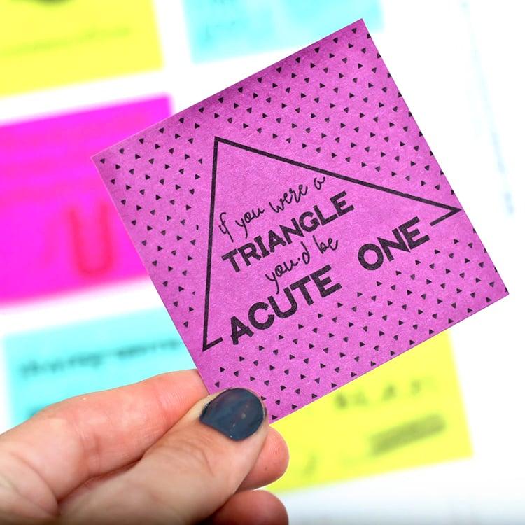 Funny Pick-Up Line Sticky Notes
