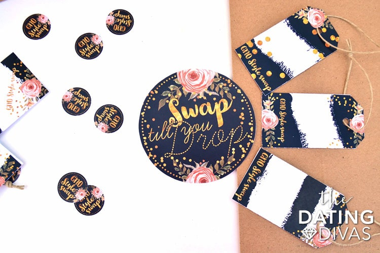 Tags and tokens to organize your style swap.