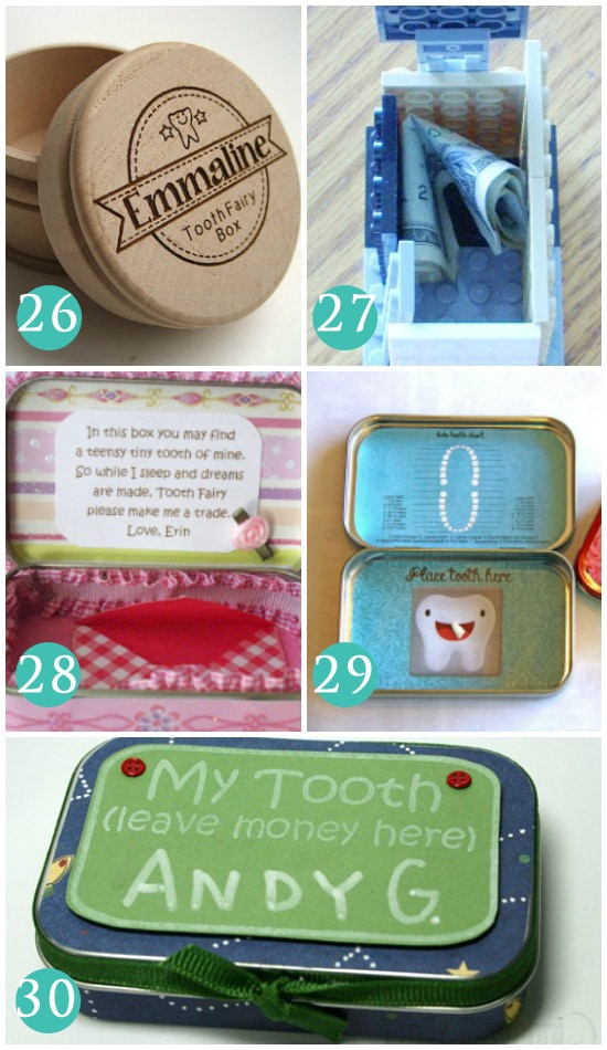 Ways to Store Your Child's Teeth for the Tooth Fairy