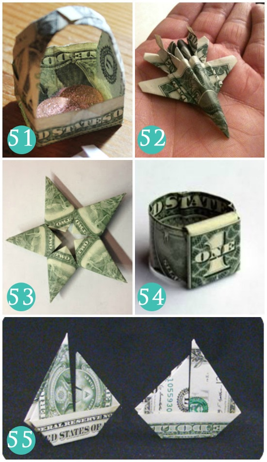 Ways to Fold Money