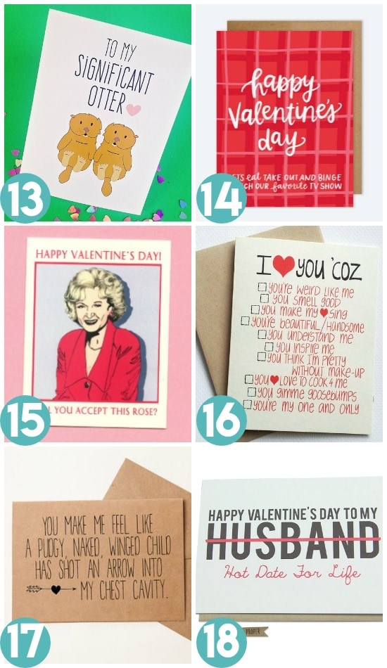 Funny Valentine Card Ideas For Spouse