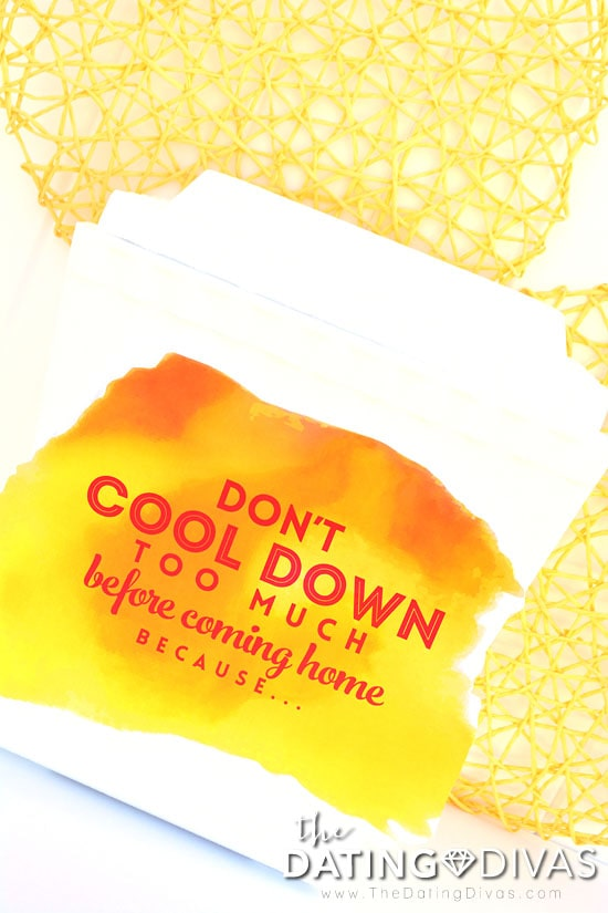 Don't cool down, invite your honey home for some heat!