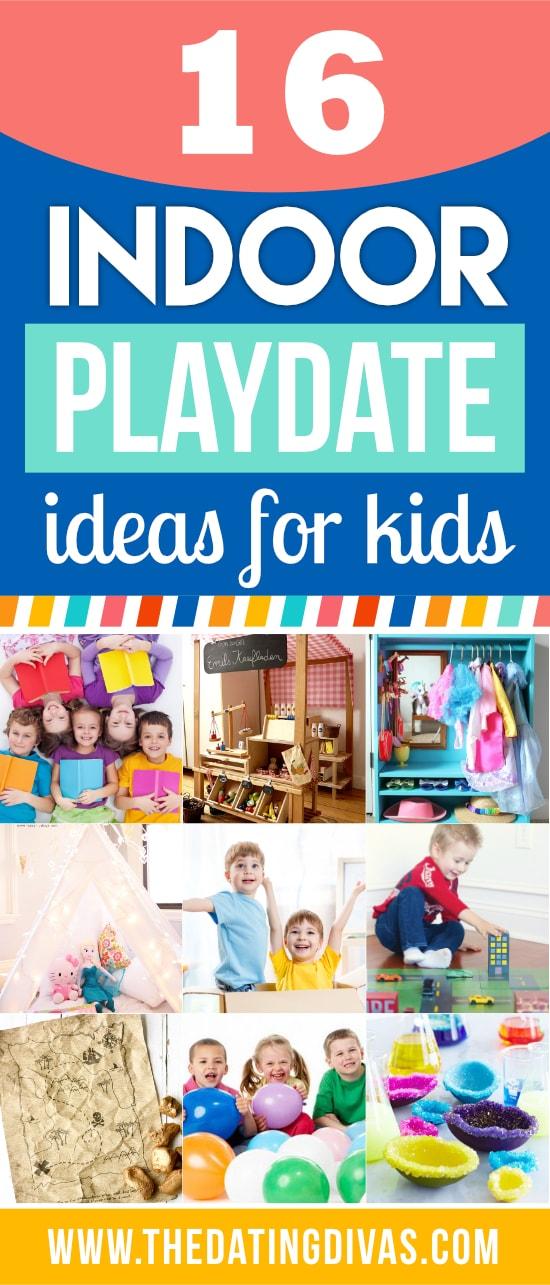 Indoor Playdate Ideas for Kids