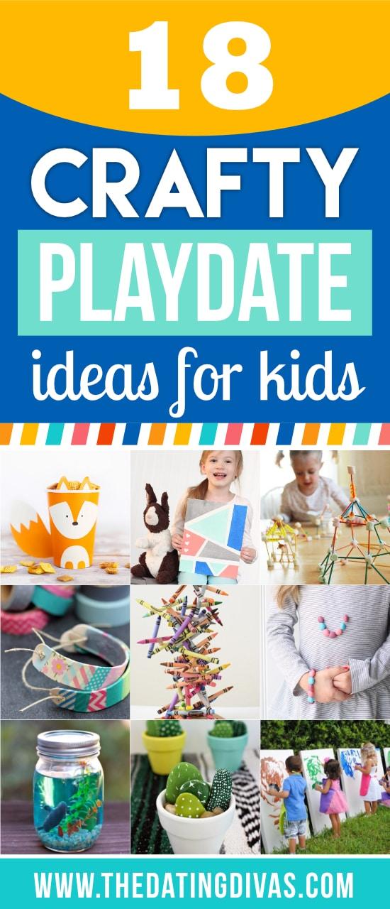 Crafty Playdate Ideas