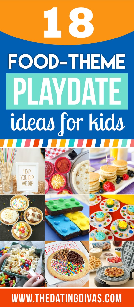 Food-Themed Playdate Ideas