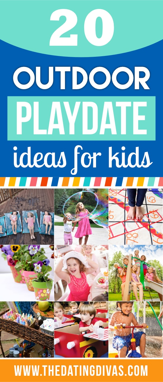 Outdoor Playdate Ideas for Kids