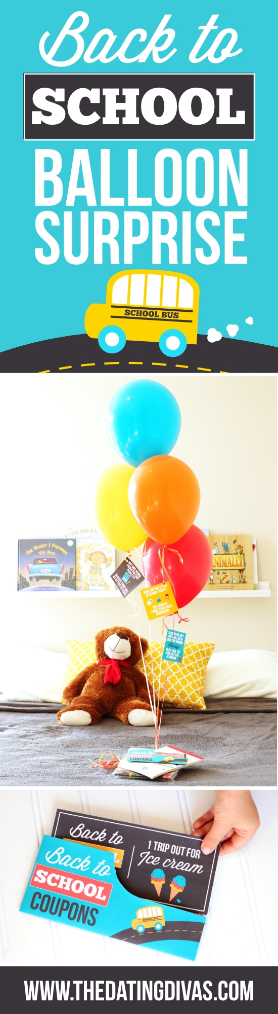 Back to School Balloon Surprise