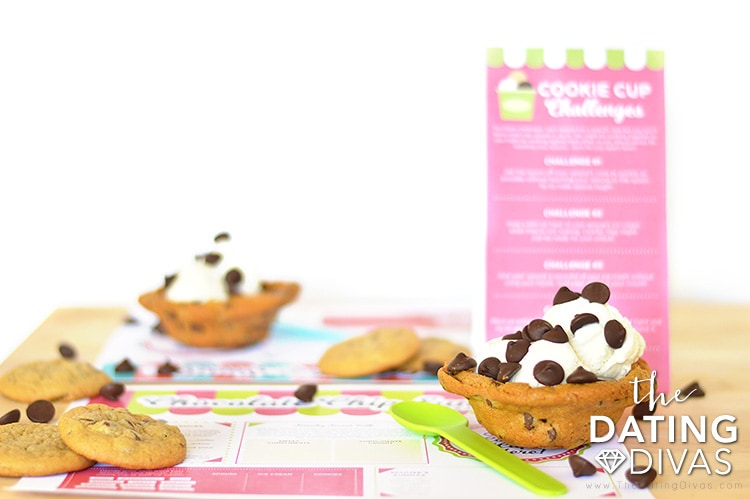 Cookie Cup Ice Cream Bowls