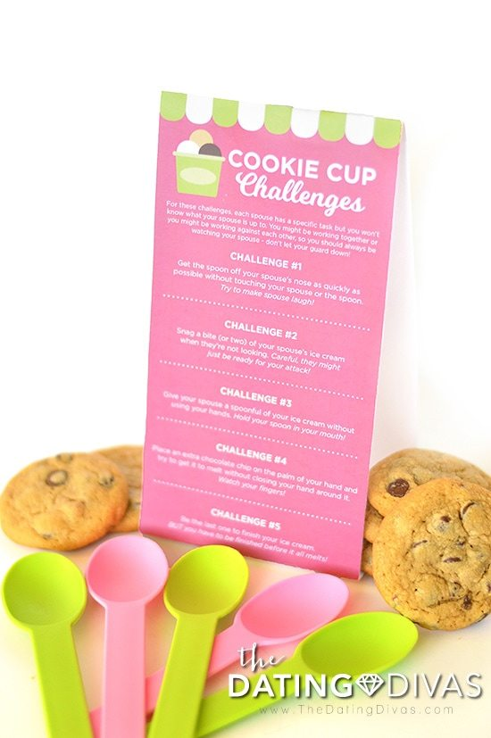 Cookie Cup Date Night Challenges