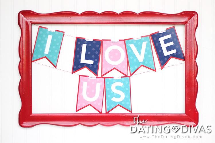 Dating divas birthday banner