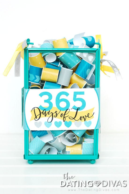 First Anniversary Love Note Gift