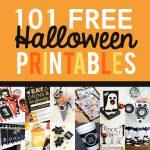 101 FREE Halloween Printables
