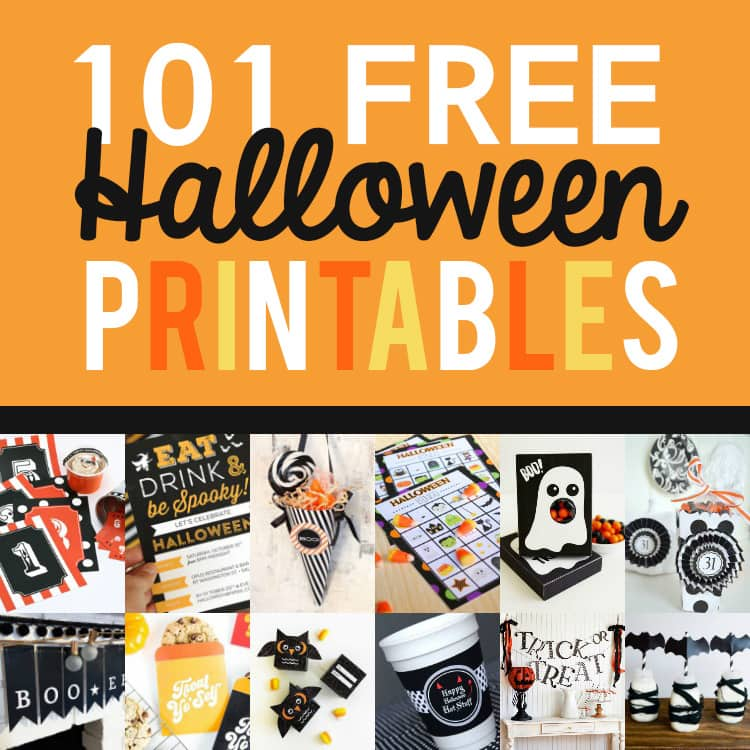 picture relating to Free Halloween Printable known as 101 Absolutely free Halloween Printables- Against The Courting Divas