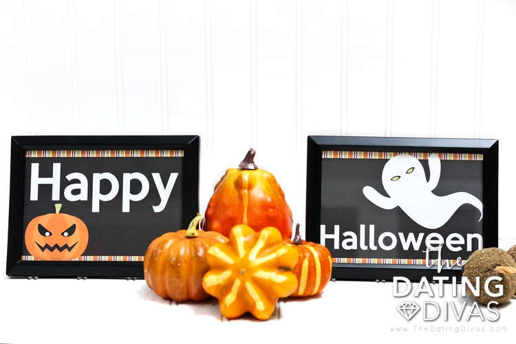 Halloween Prints Decor