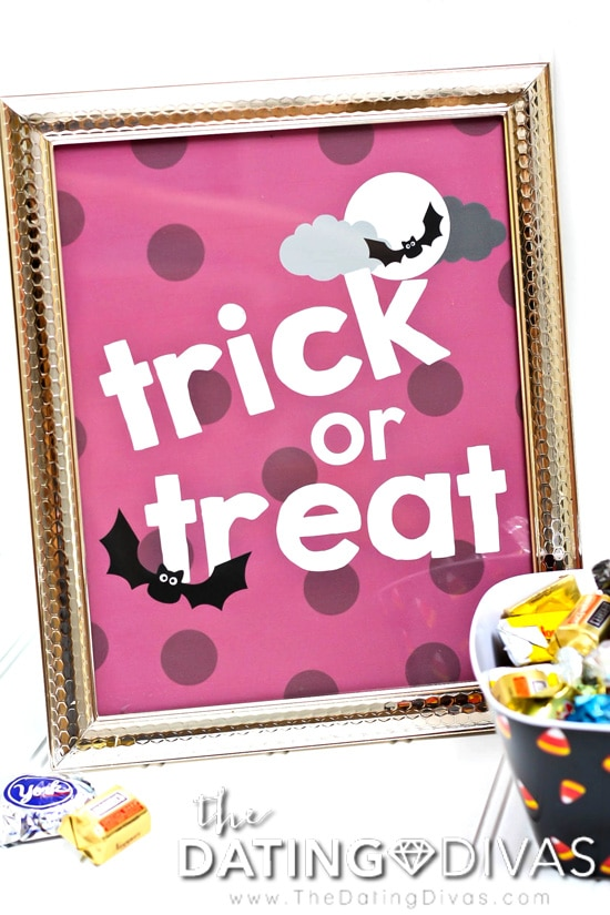 Trick or Treat Printable Art