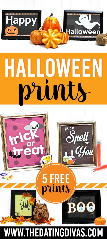 free halloween wall decor - Halloween Prints