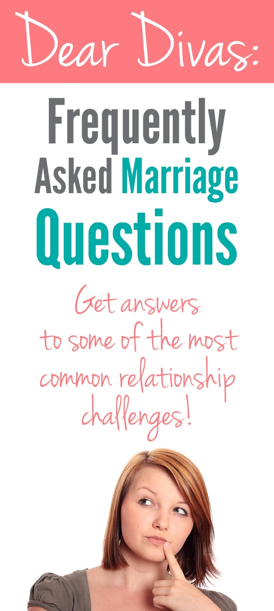Frequently Asked Marriage Questions