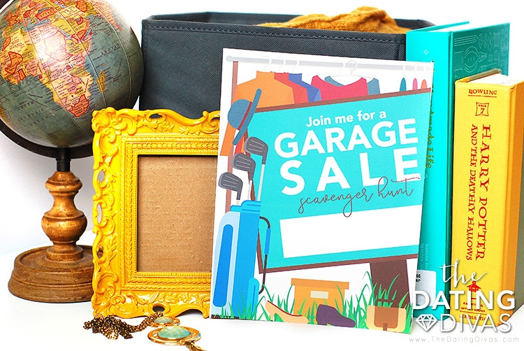 Garage Sale Date Invite