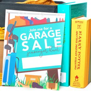 Garage Sale Date Idea