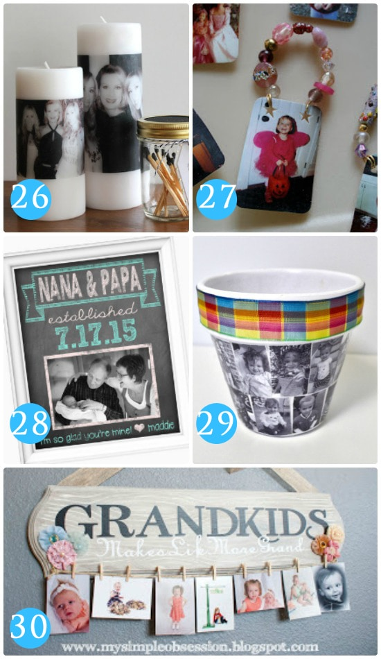 Photo Gift Ideas for Grandparents Day
