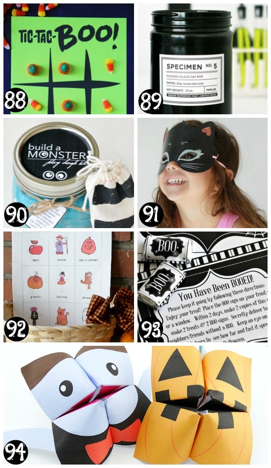 Free Printable Halloween Activities and Games