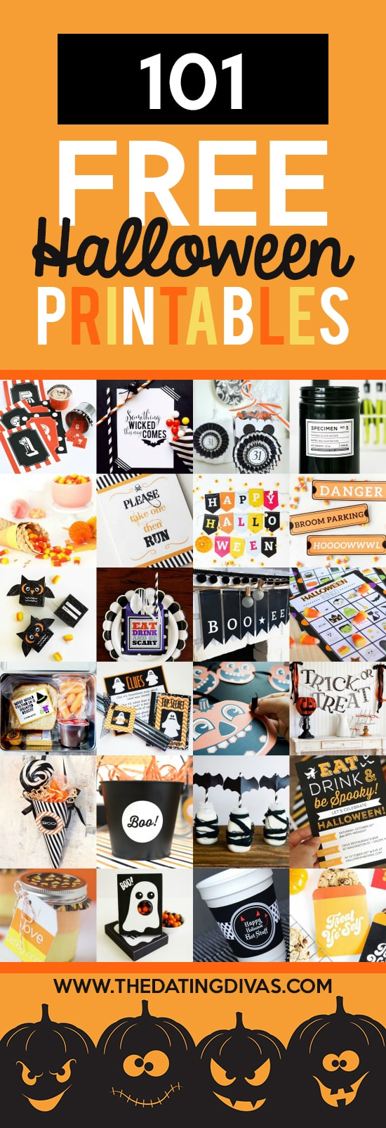 Printable Halloween Classroom Decorations ~ Free halloween printables the dating divas