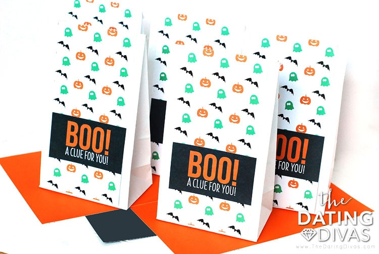 Halloween Scavenger Hunt Activity Bags