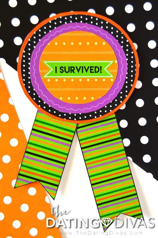 Haunted House Survivor Badge