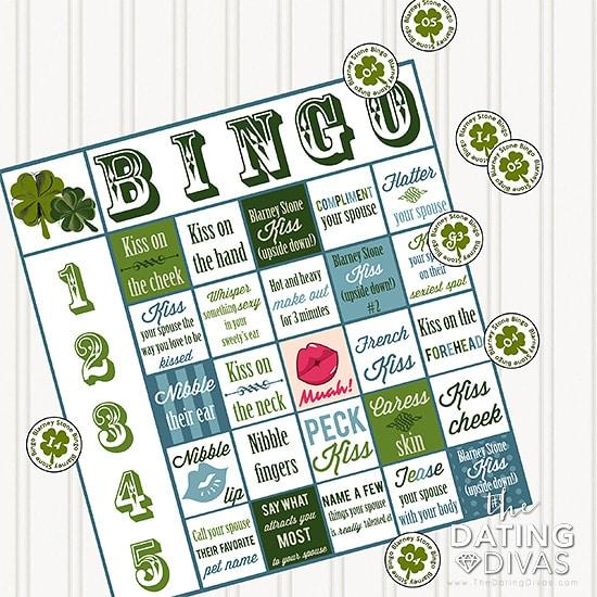 Ireland Date Night Bingo