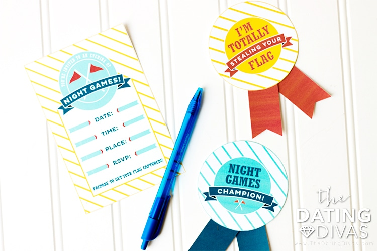 Night Games Date Night Awards Ribbons
