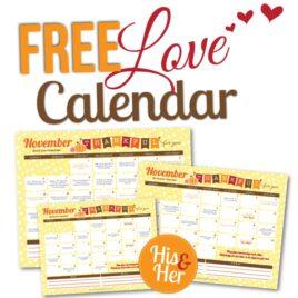 November Love Calendar