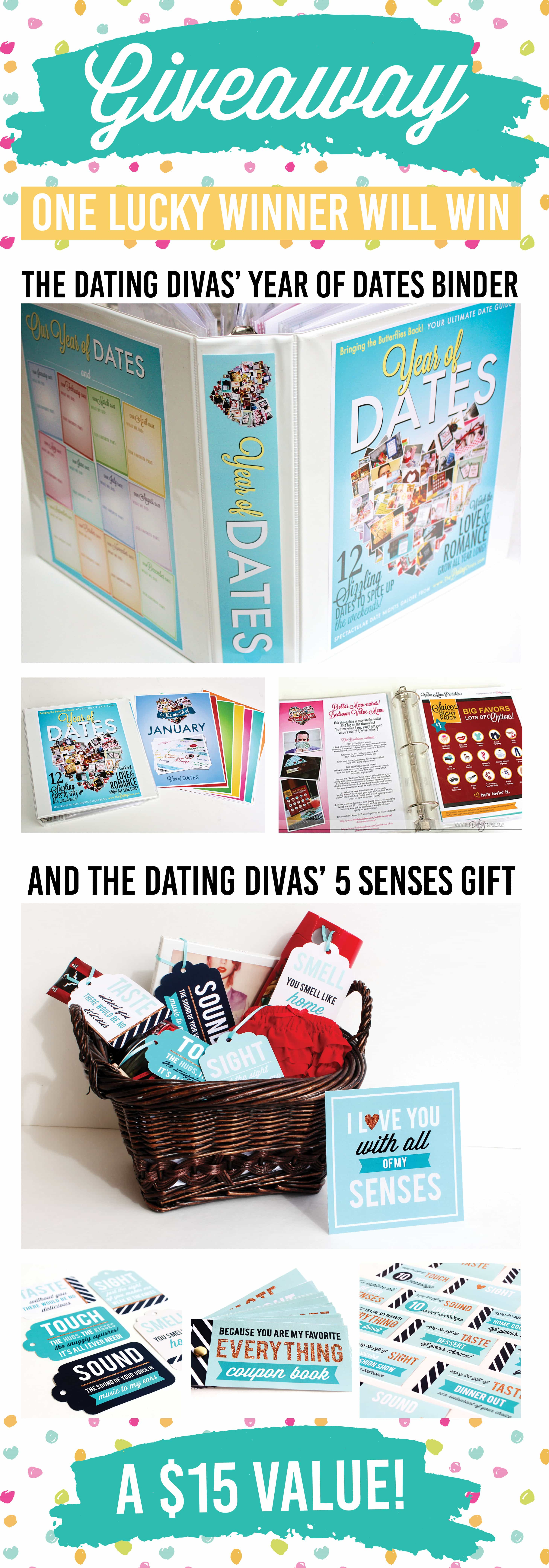 Pinterest Party Giveaway Year of Dates