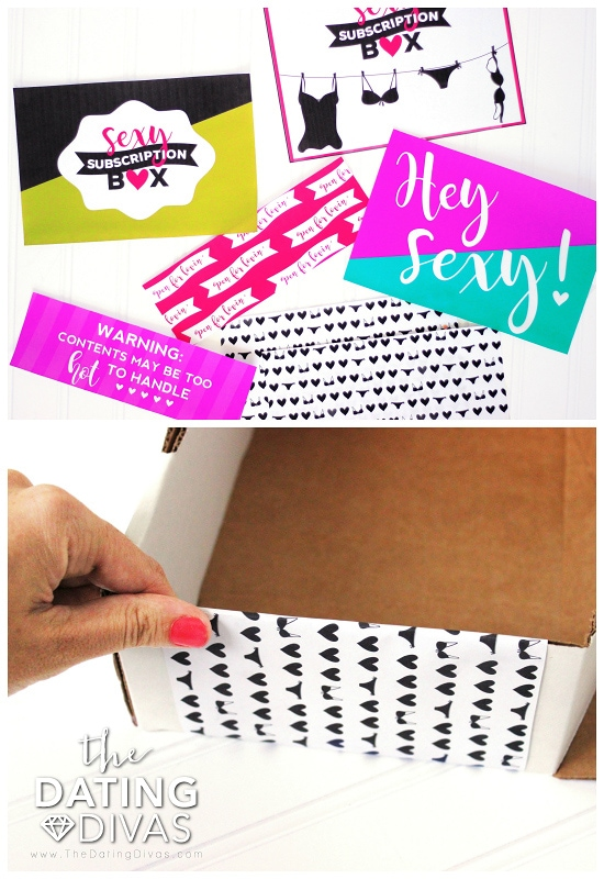 Sexy Subscription Box Printables
