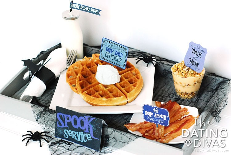 Spook Service Halloween Breakfast In Bed Idea