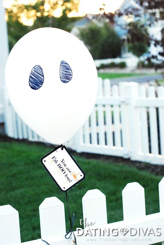 You've Been Boo'ed Balloon Idea