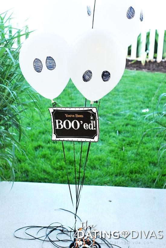 You've Been Boo'ed Balloons