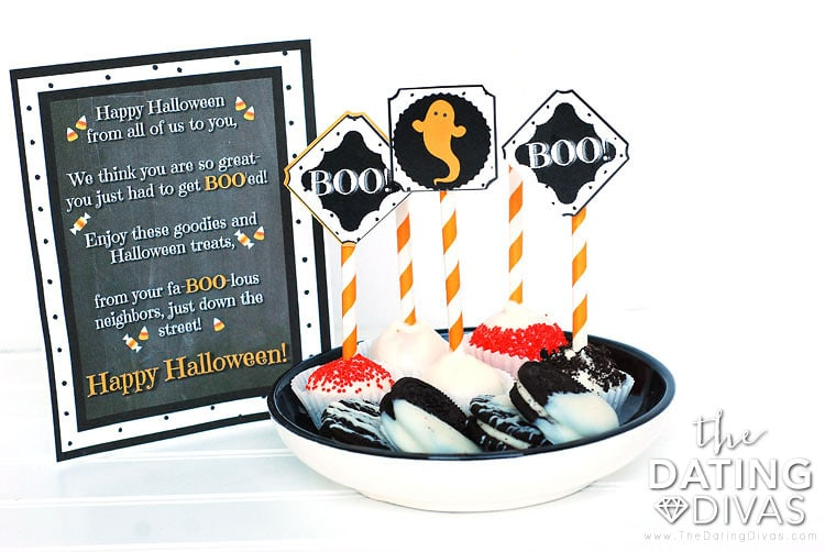 You've Been Boo'ed Poem And Treats