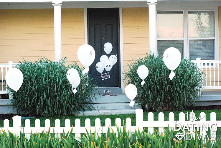 You've Been Boo'ed Decorated Yard